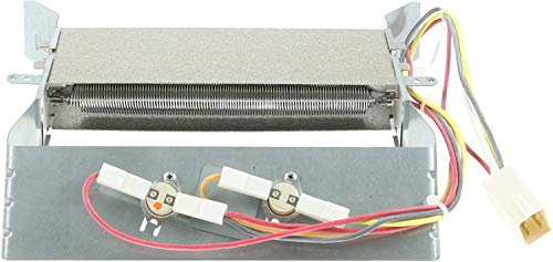 Spares2go Heater Element + Thermostats for Hotpoint TCM580P TCM570P TCM580G Tumble Dryer (2200W) from Spares2go
