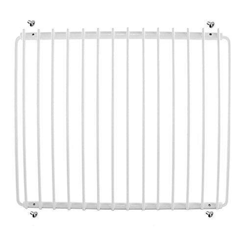Spares2go Plastic Coated Shelf Rack for Candy Fridge Freezers (White) from Spares2go