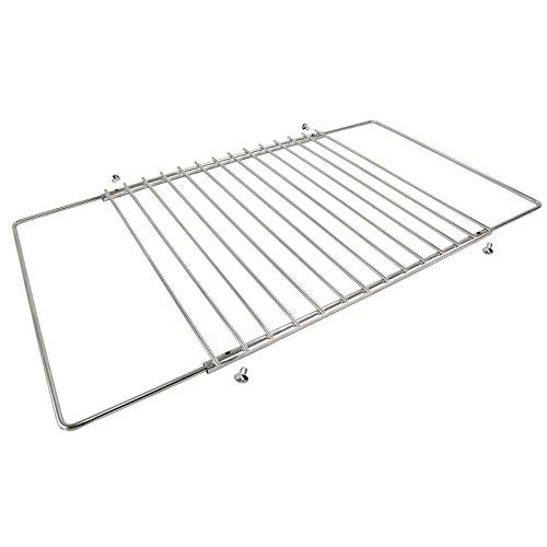 Spares2go Universal Adjustable Fixed Arm Grill Shelf for Bompani Spinflo Caravan Oven/Cookers (320mm x 360 / 620mm) from Spares2go