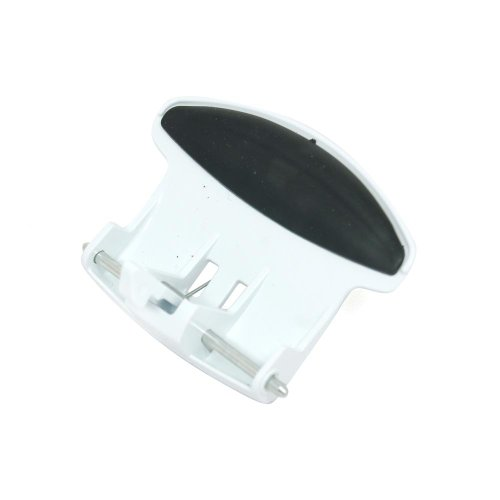 White Door Handle for Bomann Washing Machine Equivalent to C00202401 from Spares4appliances