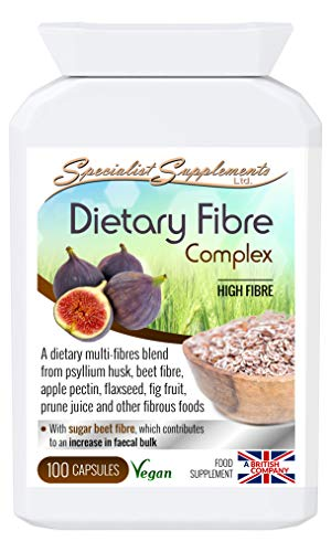 Specialist Supplements Dietary Fibre Complex 100 Capsules from Specialist Supplements