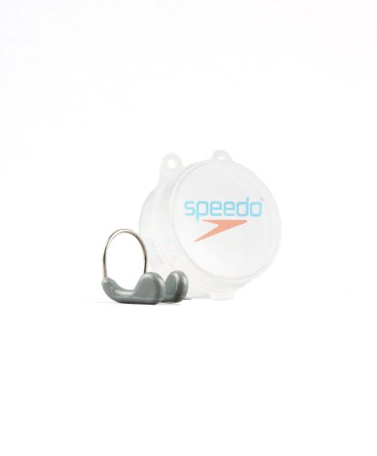 Speedo Unisex Adult Competition Nose Clip, Graphite, One Size from Speedo