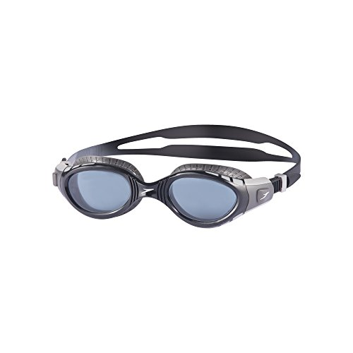 Speedo Unisex's Futura Biofuse Flexiseal Goggles, Cool Grey/Black/Smoke, One Size from Speedo