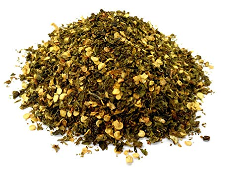 Jalapeno Green Crushed Chillies, Premium Quality, Free P&P to The UK (50g) from SR-SPEEDRANGE