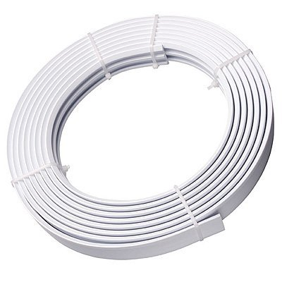 SPEEDY Streamline Coiled Curtain Track Set, White, 500 Cm from SPEEDY