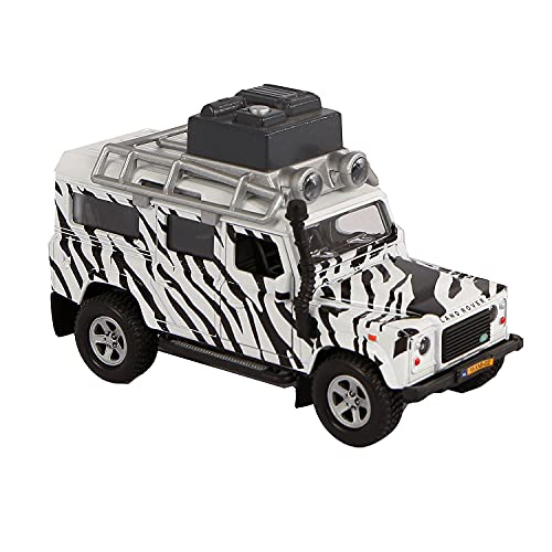 Speel Goed 510753 – Easy to Play Models Diecast Car Land Rover Defender Safari Multi-Coloured from Speelgoed