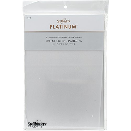 Spellbinders Platinum Cutting Plates 2/Pkg-X-Large from Spellbinders