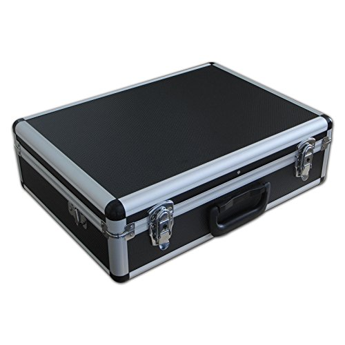 Small Spiderlite Lightweight Semi Flight Case With Tool Insert Dividers Pick Pluck Foam In Black from Spiderlite