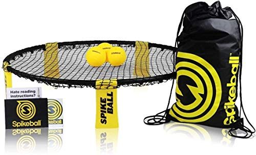 Spikeball Outdoor Toys Garden Games Ball Activity Sports Set - As Seen On Shark Tank - Play on Lawn, Yard, Beach, Football Field - Includes Net, 3 Balls, Bag, Rule Book - Great Gift for Kids, Family, Teens, Boys, Adults from Spikeball