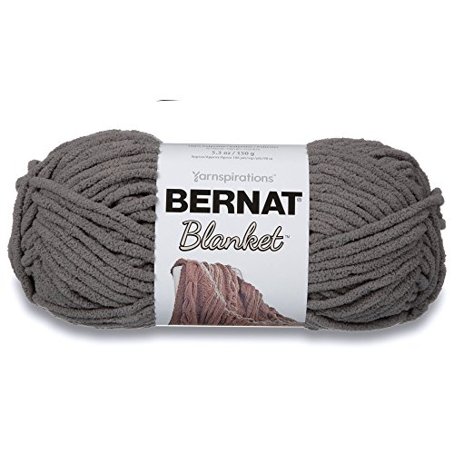 Spinrite Blanket Yarn-Dark Grey, Other, Multicoloured from Bernat