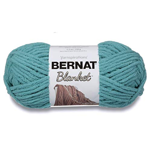 Spinrite Blanket Yarn-Light Teal, Other, Multicoloured from Bernat