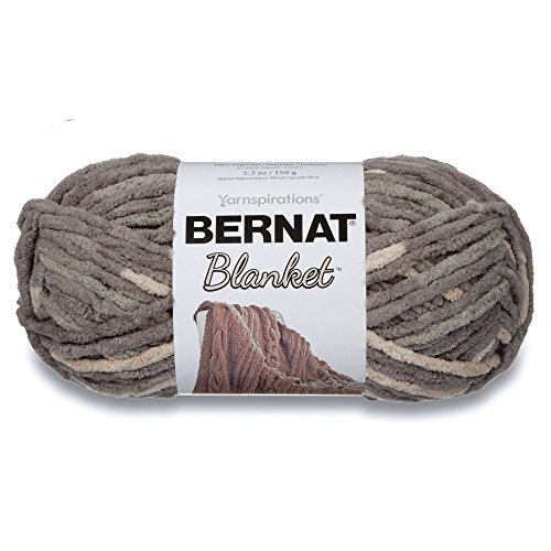 Spinrite Blanket Yarn-Silver Steel, Other, Multicoloured from Bernat