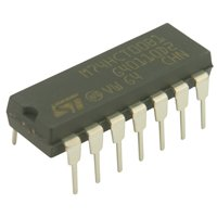 Spiratronics 4026B Decade Counter 7 Seg Out Logic IC from Spiratronics