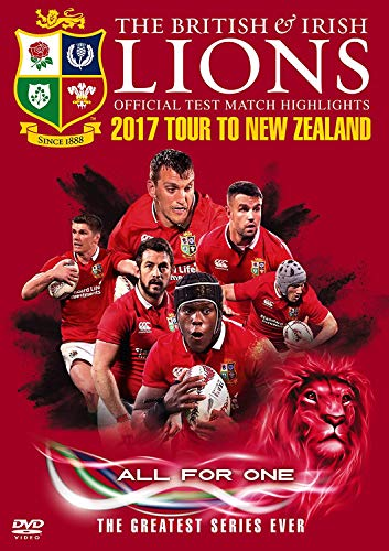 British & Irish Lions Official Test Match Highlights 2017 Tour To New Zealand [DVD] from Spirit Entertainment Limited