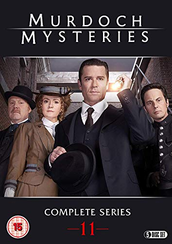 Murdoch Mysteries: Series 11 [DVD] from Spirit Entertainment Limited