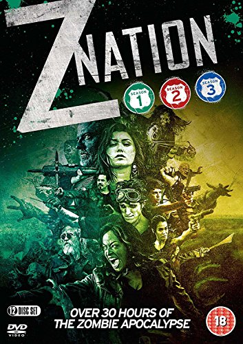 Z Nation: Season One, Two & Three [DVD] from Spirit Entertainment Limited