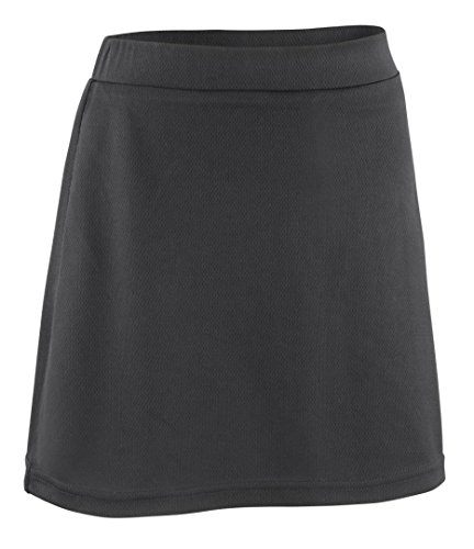 Spiro Girl's Junior Field Hockey Skort Black 7 - 8 Years from Spiro