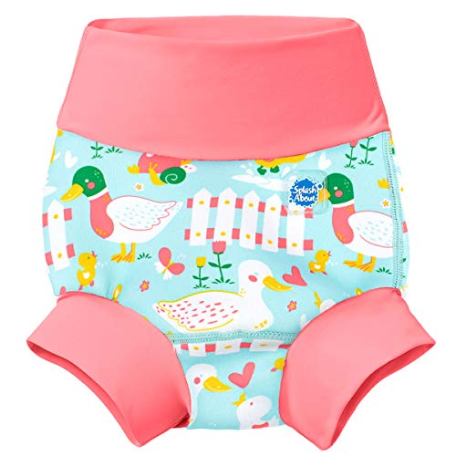 Splash About Unisex Baby Kids New Improved Happy Nappy, Little Ducks, 2-3 Years from Splash About