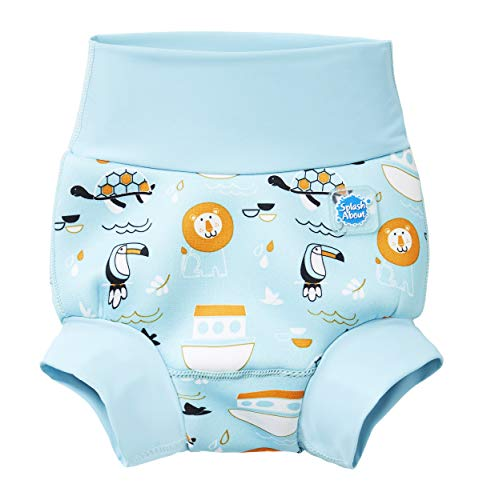 Splash About Kids' New Improved Happy Nappy, Noah's Ark, 3-6 Months from Splash About