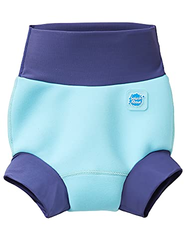 Splash About Kids' New Improved Happy Nappy, Blue Cobalt, 6-12 Months from Splash About
