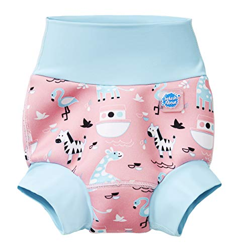 Splash About Kids New Improved Happy Nappy, Nina's Ark, 6-12 Months from Splash About