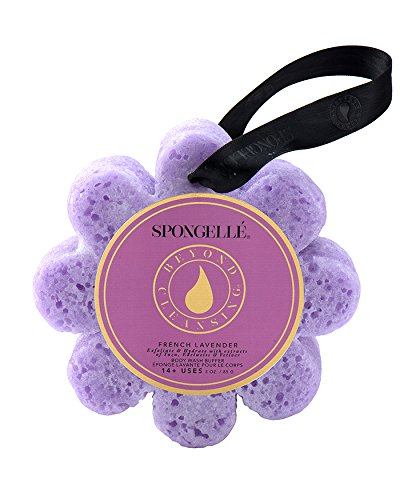 Spongelle Infused Body Wash Buffer 14+ Washes - French Lavender - Wild Flower from Spongellé