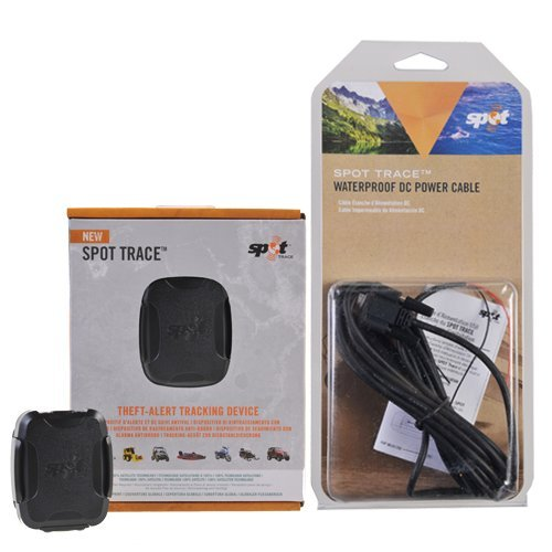 Spot Trace GPS Satellite Asset Tracker with SPOT Waterproof USB Cable from Spot