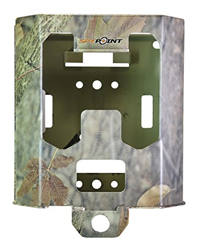 Spypoint Metal Solar and Antennae Enclosure SB Cameras with 42 LEDs Surveillance Camera, Camo, S from Spypoint