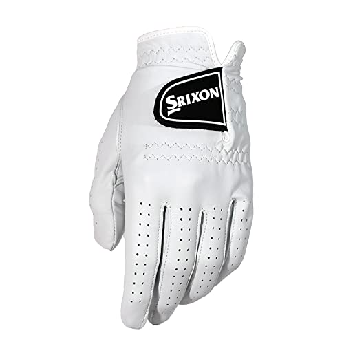 Srixon Men's Z Cabretta Glove, White, L from Srixon