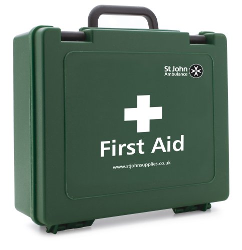 St John Ambulance Statutory 10-Person First Aid Kit from St John Ambulance