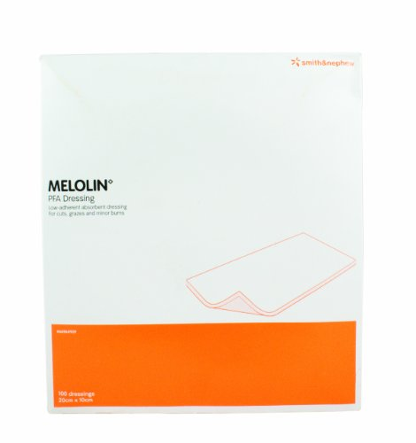 St John Ambulance Supplies Supplies Melolin Cushioned Dressing Pad 10 x 20cm Pack of 100 from St John Ambulance