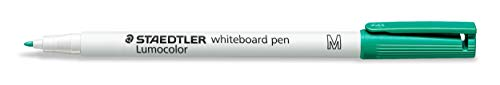 Staedtler Lumocolor Whiteboard Pen - Green (Box of 10) from STAEDTLER