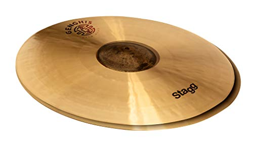 "Stagg 14"" Genghis Exo Medium Hi-hat Cymbals GENG-HM14E from Stagg"