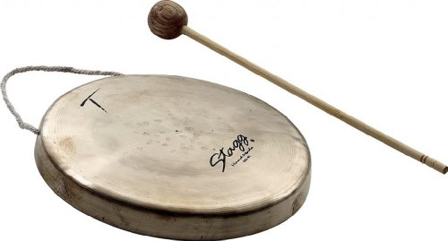 Stagg MSG-165 6.5-Inch Mini Stilt Gong from Stagg