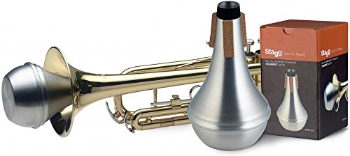 Stagg MTR-S3A Trumpet Straight Aluminium Mute from Stagg