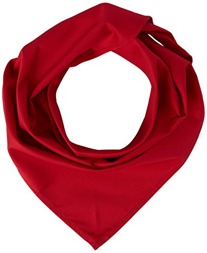 "Stalwart A054 Red Neckerchief, 100% Cambric Cotton, Size: 36"" x 25"" from Stalwart"