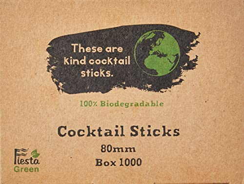 Stalwart CC461 Cocktail Sticks (Pack of 1000) from Stalwart