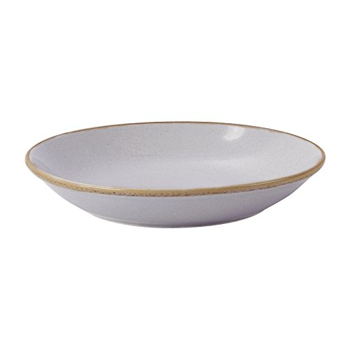 Stalwart 197630ST Stone Coupe Bowl, 30 cm (Pack of 6) from Stalwart