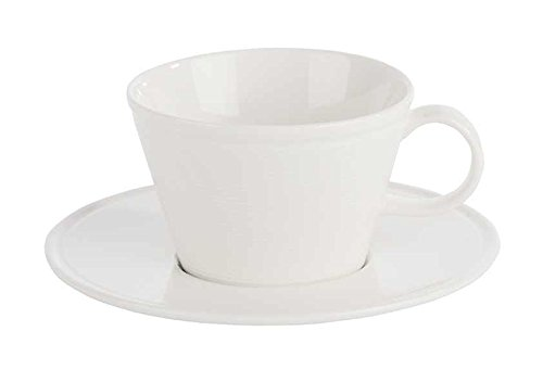 Stalwart 325825 Line Cappuccino Cup, 25 cL (Pack of 6) from Stalwart