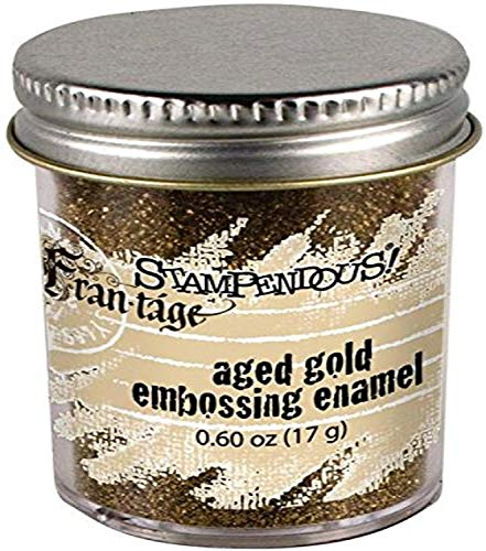 Stampendous Aged Embossing Enamel 0.60 oz-Gold from Stampendous