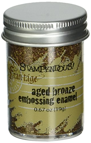 Stampendous Frantage Aged Embossing Enamel .63oz-Bronze from Stampendous