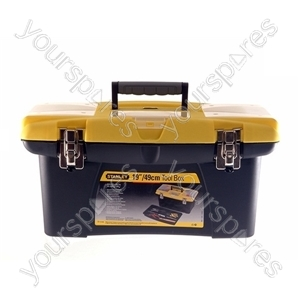Jumbo Tool Box - 19in./475mm from Stanley