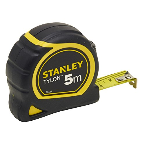 "Stanley 1-30-697""Tylon"" Tape Measure with Anchor, Black/Yellow, 5 m/19 mm from Stanley"