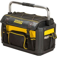 "Stanley 1-79-213 FatMax Plastic Fabric 20"" Open Tote With Cover 49... from Stanley"