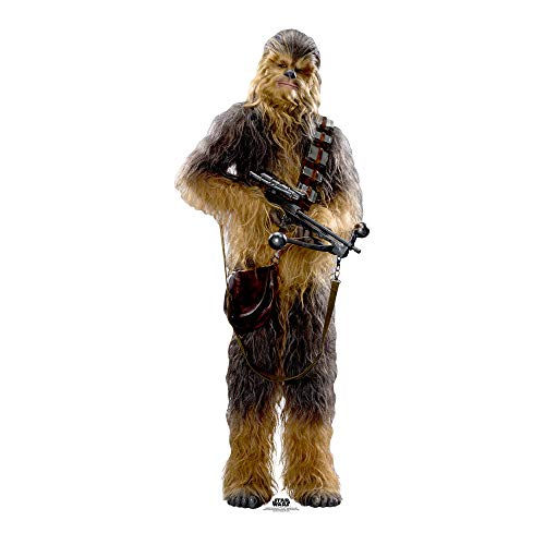 Official Star Cutouts Star Wars Chewbacca (SW:TFA) Lifesize Cardboard Cut Out from STAR CUTOUTS