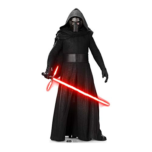 Official Star Cutouts Star Wars Kylo Ren (SW:TFA) Lifesize Cardboard Cut Out from STAR CUTOUTS