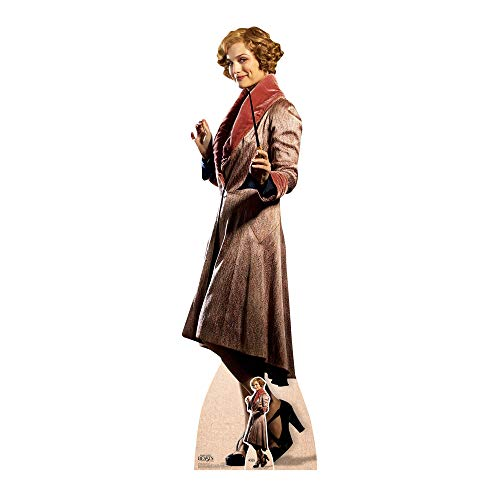 STAR CUTOUTS Queenie Goldstein Fantastic Beasts Life Size Cardboard, Multi-Colour from STAR CUTOUTS