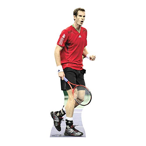 STAR CUTOUTS Cut Out of Andy Murray from STAR CUTOUTS