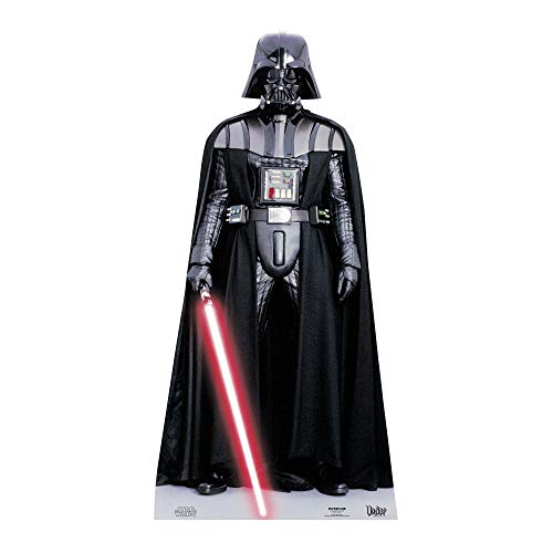 Official Star Cutouts Star Wars Darth Vader Lifesize Cardboard Cutout from Star Cutouts Ltd