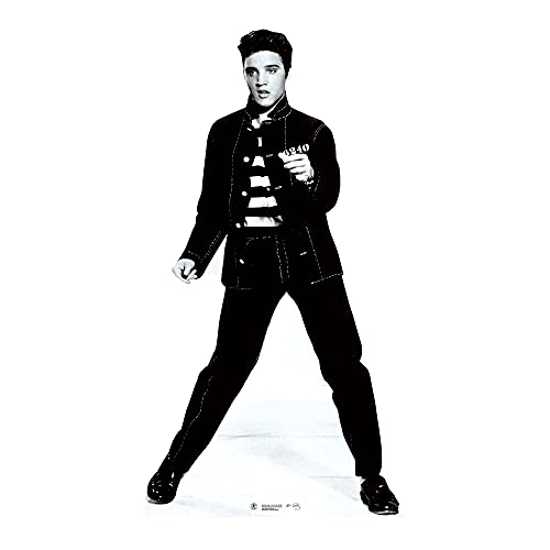 Star Cutouts Official Cardboard Cutout of Elvis Jailhouse Rocks Lifesize from Star Cutouts Ltd